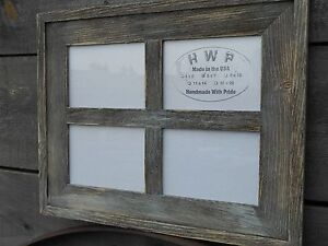 Details About Barn Wood Window Style Picture Frame 8 Colors Fits 4x6 5x7 And 8x10 Pictures