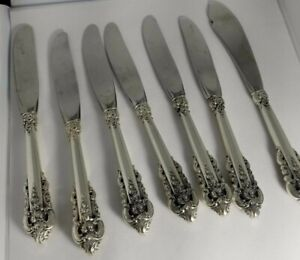 """WALLACE GRAND BAROQUE STERLING SILVER HH BUTTER PADDLE 6 1//8/"""" NO MONOGRAM"""