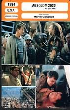 ABSOLOM 2022 - Liotta,Henriksen (Fiche Cinéma) 1994 - No Escape