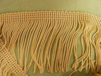 Other Beads & Jewelry Making Fringing Loop Beige 70mm 2.5 Meters Crafts
