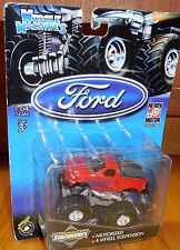 MUSCLE MACHINES Stampeders Monster Truck Mosc NEW LASER STAMPEDERS Ford