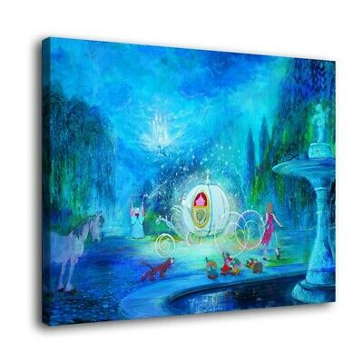 "Disney Villains Paintings  HD Canvas Print 16/""x22/"" Home Decor Wall Art Picture"