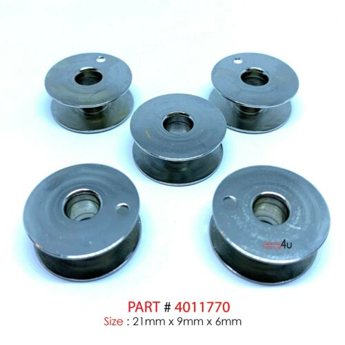 HUSQVARNA Viking Sewing Machine Metal BOBBINS #4011770 High Quality