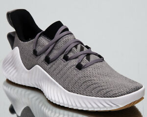 brand new a3807 591b3 Image is loading adidas-AlphaBOUNCE-Trainer-New-Men-039-s-Grey-