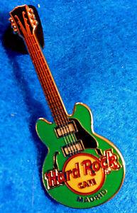 Madrid-Spagna-Verde-4-Stringa-Core-Gibson-Chitarra-Serie-Rigida-Rock-Cafe-Spilla
