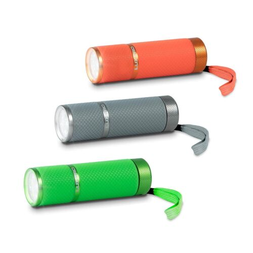 3 Pack LP395 Luxpro Glow in the Dark tactique DEL lampes de poche