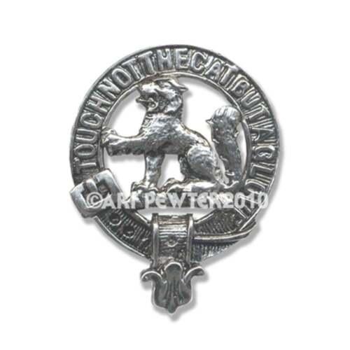 Art Pewter MacPherson Clan Crest Cufflinks CCL-C78 Scottish