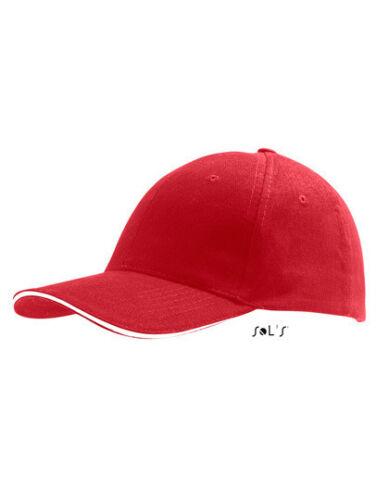 Sol/'s Kappe SIX PANEL CAP BUFFALO Mütze Sportcap Sandwich-Cap Neu 88100