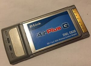 DWL-G630 D-LINK AIRPLUS G DRIVER FOR WINDOWS MAC