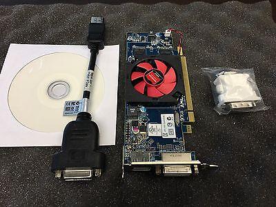 AMD HD6450 1gb OptiPlex Vostro Desktop PC  Video Graphics Card SFF Low Profile