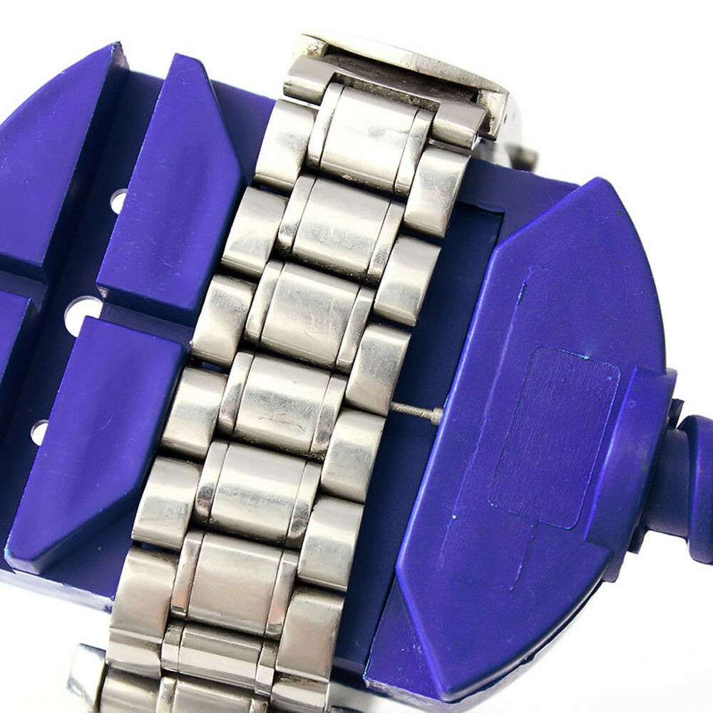 Uhr Armband Riemenhalter Link Pins Remover Uhrmacher Reparatursatz Werkzeug  ^