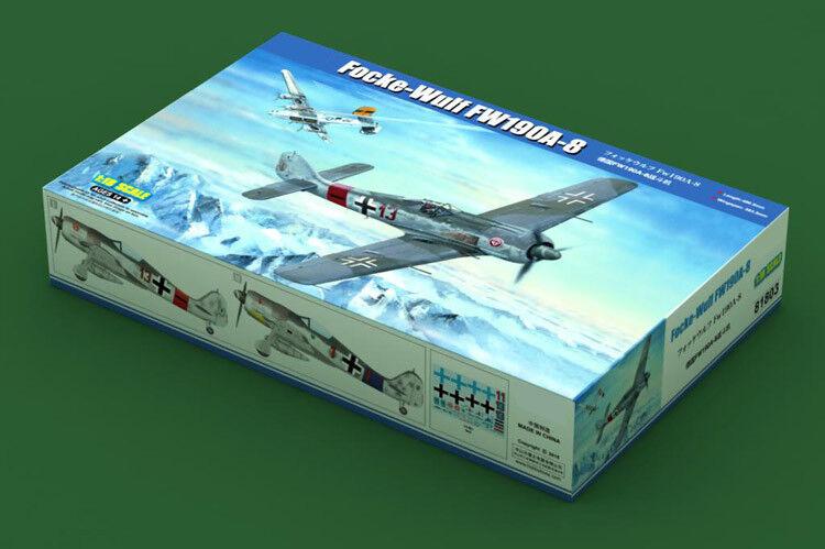 Hobbyboss 81803 1/18 Focke-Wulf FW190A-8