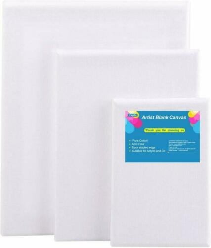 FEPITO Artist Blank Canvas Frame Stretcher 3 Pack Acrylic Oil Water Painting Boa
