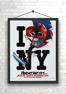 Friday The 13th Classic Movie Poster Print A0 A1 A2 A3 A4 Maxi
