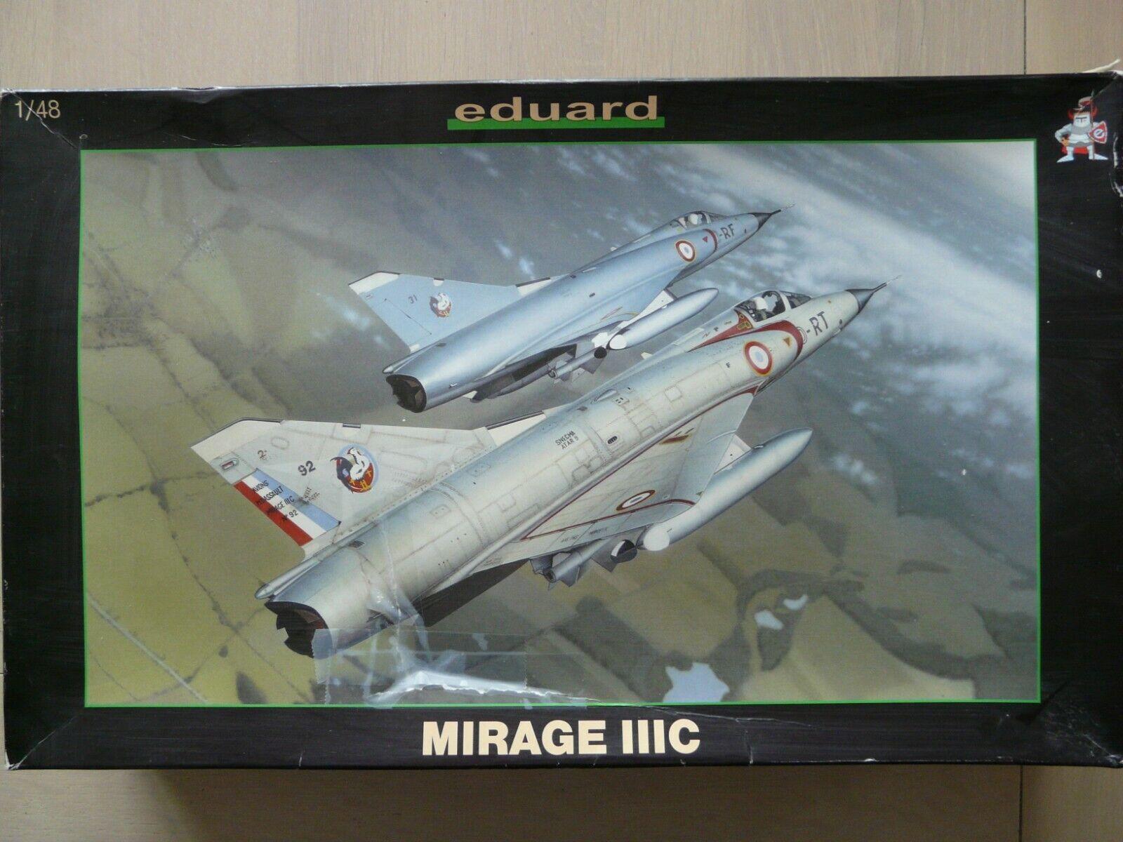 Maquette avion EDUARD 1 48 Ref 8100 Mirage III C