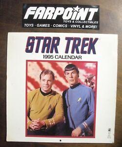 Details about Vintage 1995 STAR TREK Original Series TOS 1995 Calendar  Reusable in 2013!