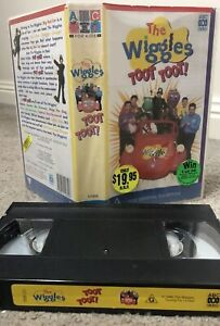 The-Wiggles-Toot-Toot-ABC-Video-VHS-Tape-Aus-Seller-Fast-Post