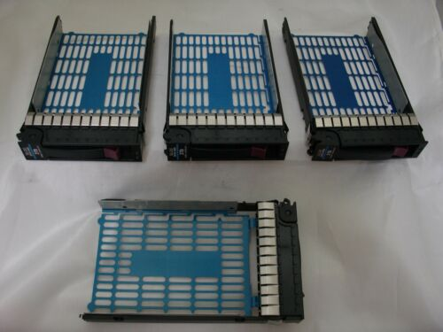 Set of 4 HP Hard Drive Trays For 3TB 7.2k HDD  P//N 628180-001 3.5-inch SATA MDL