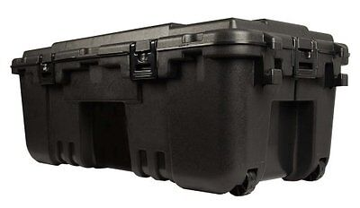 Large Wheeled Weatherproof Portable Storage Trunk Footlocker Travel Tote Box NEW