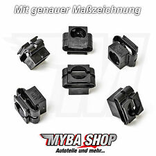 15x UNTERFAHRSCHUTZ MOTORSCHUTZ CLIPS AUDI A4 A6 VW PASSAT SKODA SEAT KLIPS NEU