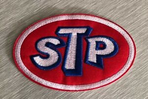 STP-Iron-Sew-On-Patch-Motor-Oil-NEW-2-NASCAR-Racing-US-SELLER-Embroidered