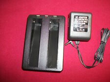 Dual Port Battery Charger Trimble GPS Pro XR/XRS Ag MS750 Topcon Panasonic Leica