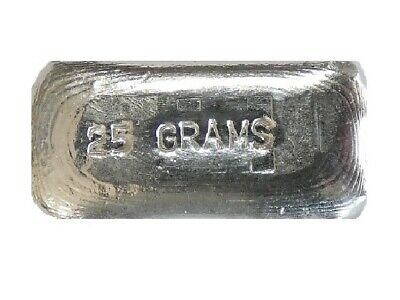 5 Gram Silver Bar.999Hand PouredVolume Pricing