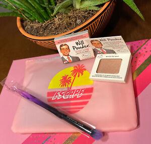 theBalm The Balm Cosmetics Will Powder Blush & Brush And ...