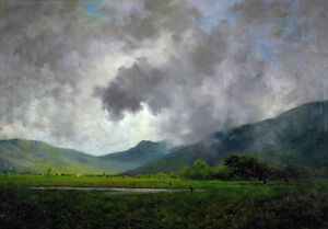 oil-painting-100-handpainted-on-canvas-034-April-Showers-Napa-Valley-034