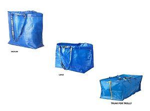 Ikea Frakta Medio Grande Blu Trasporto Contenitore Bucato Borse Buy