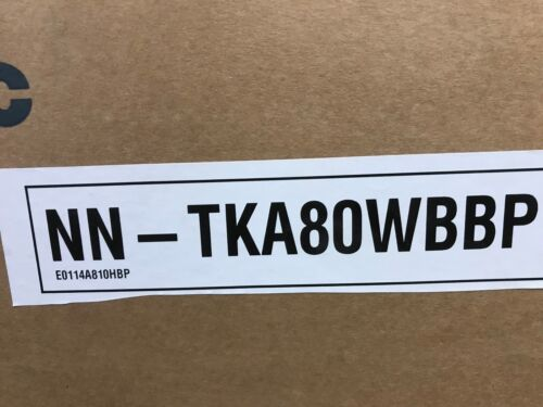 Panasonic NN-TKA 80 wbbp FORNO A MICROONDE incorporato Trim Kit Bianco-Nuovo in Scatola