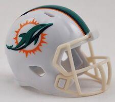 New NFL Miami Dolphins Riddell Revolution Pocket Pro Mini Football Helmet
