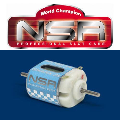NSR 3003 Shark 1/32 Slot Car Can Sized 25,000 RPM Universal Motor 25K