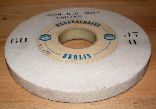 WEBER Schleifstein 200 x 20 x 51 Schleifbockscheibe Doppelschleifmaschine neu