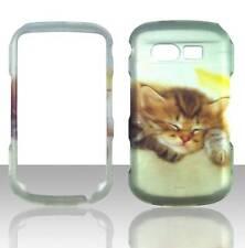 For Pantech Caper TXT8035 Cute Kitten Plane Case Hard Phone Cover