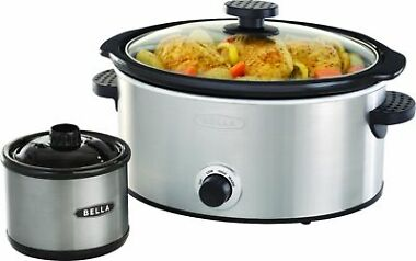 Bella 5-qt. Slow Cooker with Dipper