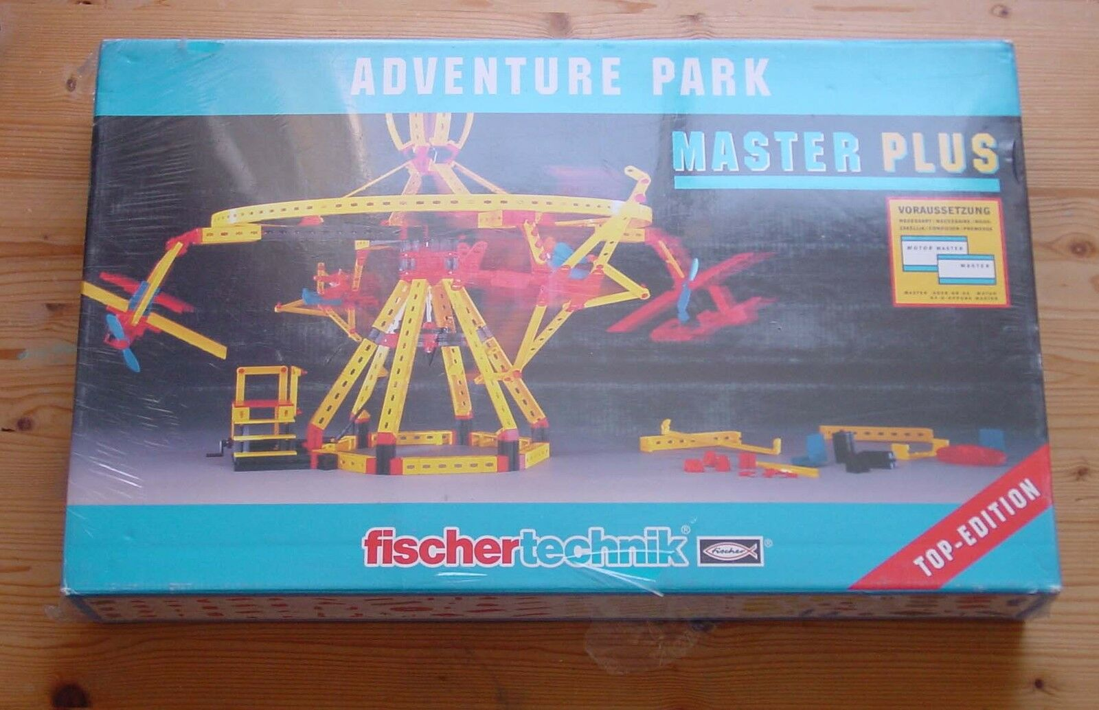 Fischertechnik - Master Plus Adventure Park -- Unbespielt