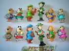 YOGI BEAR 1996 KINDER SURPRISE FIGURES SET HANNA BARBERA FIGURINES COLLECTIBLES