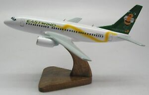Boeing B-737 Eastwind Air Airplane Desktop Wood Model Replca XL Free Shipping