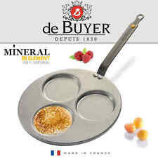 de Buyer - Mineral B Element - Pfanne für 3 Blinis