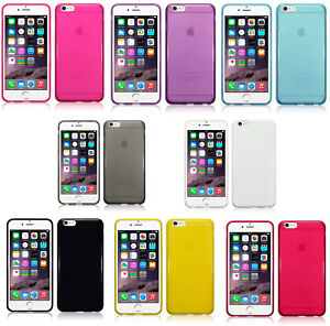 Silicone-Slim-TPU-Gel-Back-Case-Cover-For-Apple-iPhone-6-Plus-iPhone-6S-Plus