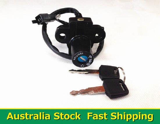 Ignition Switch Barrel with Key For Honda CBR 250RR CBR250 MC22 CB400 CBR400