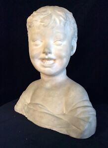 Scultura terracotta Manifattura di Signa Busto Femminile | eBay