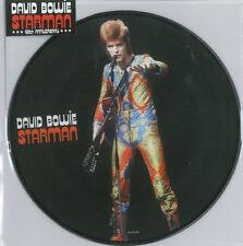 """David Bowie   - Starman 7""""  Picture Disc Rare 40th Anniversary Release"""