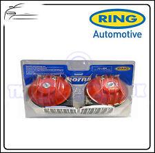 Anello 12V TWIN RED CHROME Hi-Lo nota ecetro CORNO reh200