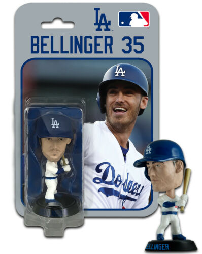 Cody Bellinger Los Angeles Dodgers Imports Dragon Baseball Bobblehead Figure 4/""