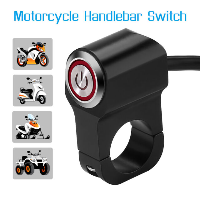 Motorcycle Handlebar Switch,7/8inch 22mm Motorcycle Aluminum Alloy ...