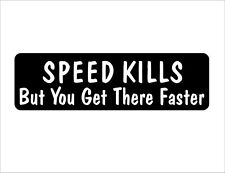 Speed Kills But Warning Vinyl Helmet Sticker Pack Random Hard Hat Bike Decal Car