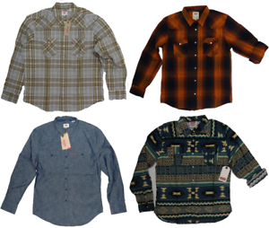LEVI-039-S-MEN-039-S-LONG-SLEEVE-BUTTON-UP-SHIRT-LEVIS-2-Sizes-S-M-L-XL-XXL