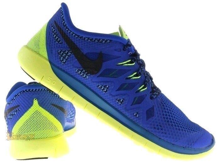 JUNIOR'S Nike Free 5.0 Running Blu Giallo Trainer 6444428-401 | | | Vendita  | Scolaro/Signora Scarpa  5e771b